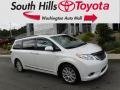 Toyota Sienna XLE AWD Blizzard White Pearl photo #1