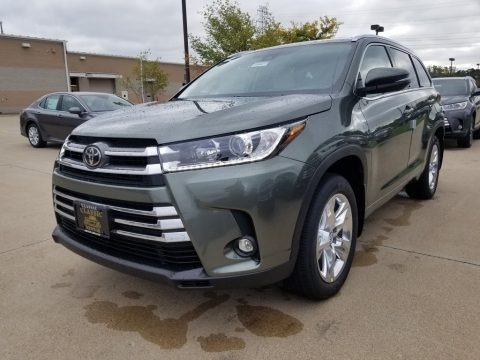 Alumina Jade Metallic 2019 Toyota Highlander Limited AWD