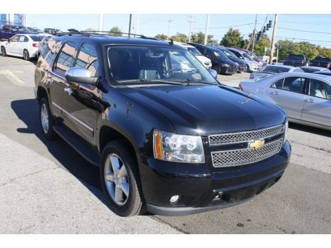 Black 2013 Chevrolet Tahoe LTZ 4x4