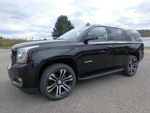 Onyx Black 2019 GMC Yukon SLT 4WD