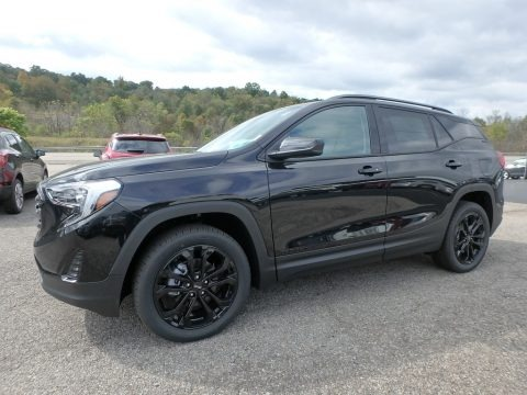 Ebony Twilight Metallic 2019 GMC Terrain SLE AWD