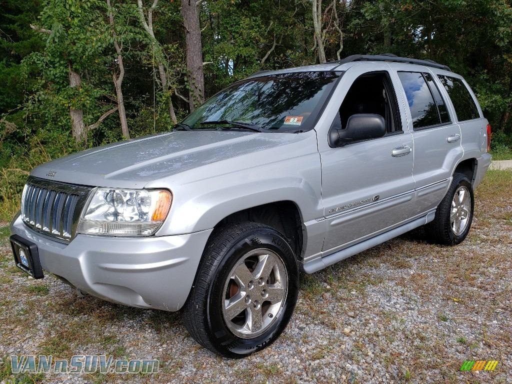 2004 Grand Cherokee Overland 4x4 - Bright Silver Metallic / Dark Slate Gray photo #1
