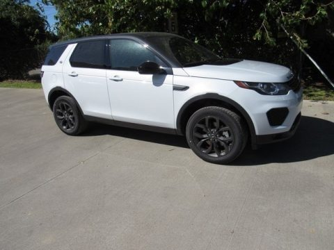 Yulong White Metallic 2019 Land Rover Discovery Sport SE