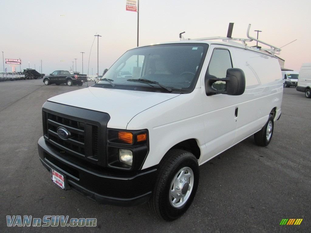 2013 E Series Van E250 Cargo - Oxford White / Medium Flint photo #1