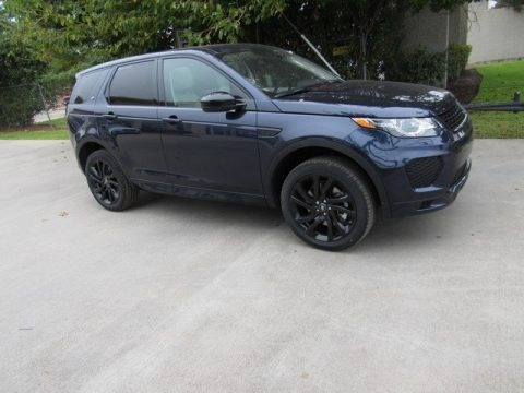 Loire Blue Metallic 2019 Land Rover Discovery Sport HSE