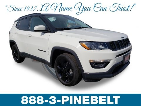 White 2019 Jeep Compass Altitude 4x4