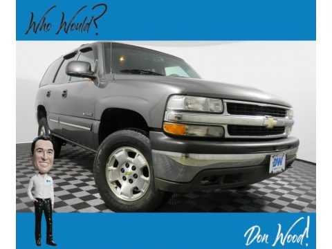 Medium Charcoal Gray Metallic 2001 Chevrolet Tahoe LS 4x4
