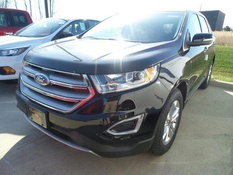 Shadow Black 2018 Ford Edge SEL AWD
