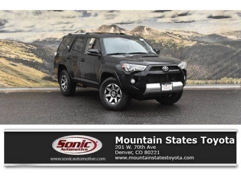 Midnight Black Metallic 2018 Toyota 4Runner SR5 4x4