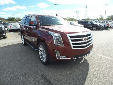 Red Passion Tintcoat 2019 Cadillac Escalade Luxury 4WD