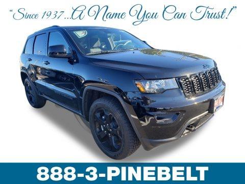Diamond Black Crystal Pearl 2019 Jeep Grand Cherokee Laredo 4x4