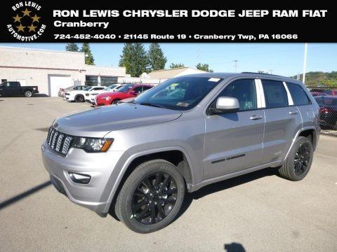 Billet Silver Metallic 2019 Jeep Grand Cherokee Laredo 4x4