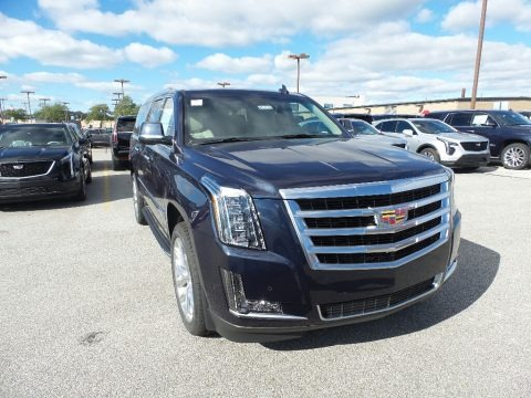 Dark Adriatic Blue Metallic 2019 Cadillac Escalade ESV 4WD