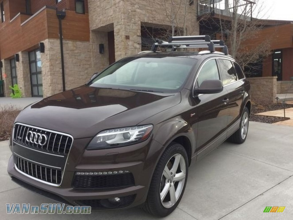 2014 Q7 3.0 TFSI quattro S Line Package - Teak Brown Metallic / Espresso photo #1