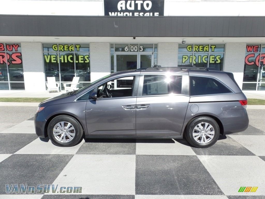 2016 Odyssey EX-L - Modern Steel Metallic / Gray photo #1