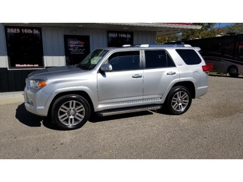 Classic Silver Metallic 2013 Toyota 4Runner Limited 4x4