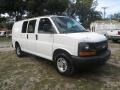 Chevrolet Express 2500 Work Van Summit White photo #2