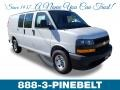 Chevrolet Express 3500 Cargo WT Summit White photo #1