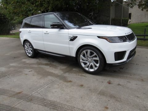 Fuji White 2019 Land Rover Range Rover Sport HSE