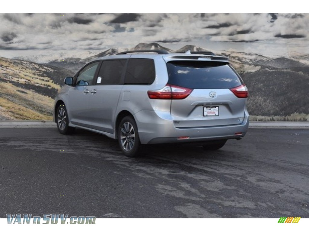 2019 Sienna XLE - Celestial Silver Metallic / Ash photo #3