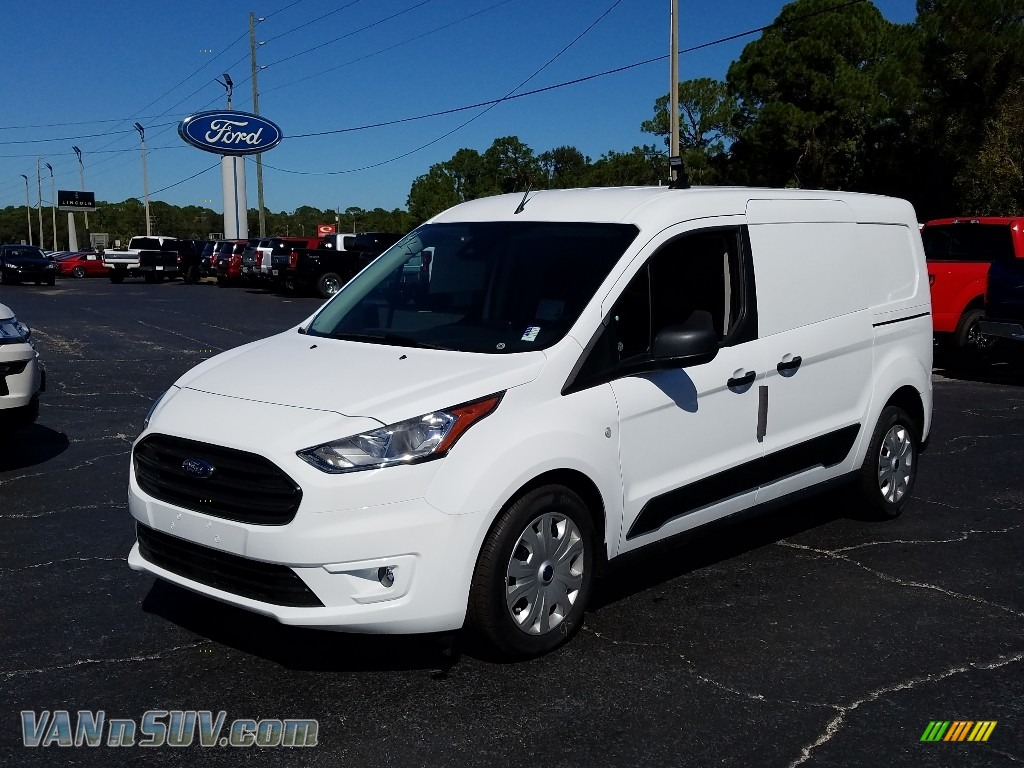 White / Ebony Ford Transit Connect XLT Van