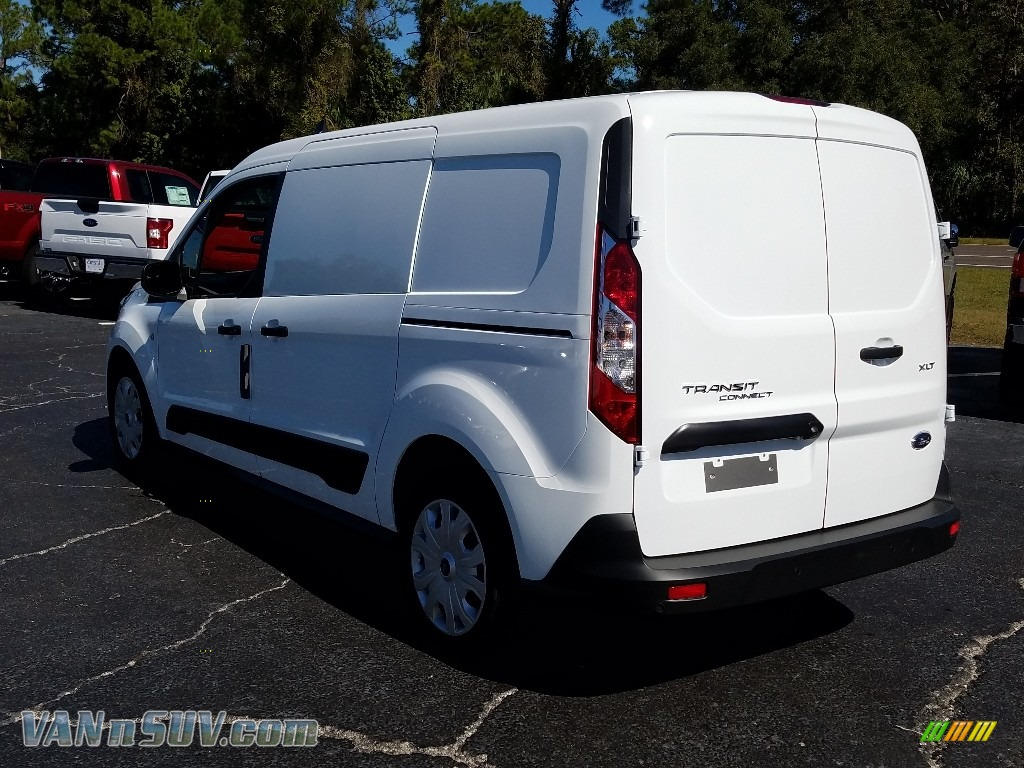 2019 Transit Connect XLT Van - White / Ebony photo #3