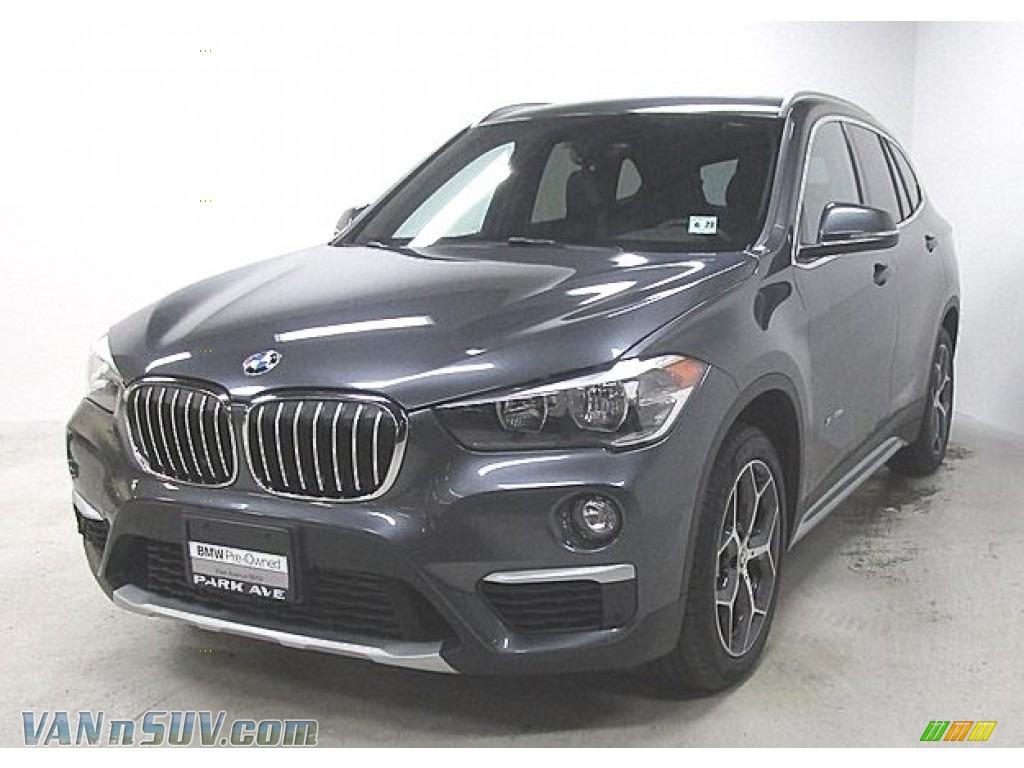 2018 X1 xDrive28i - Mineral Grey Metallic / Black photo #1