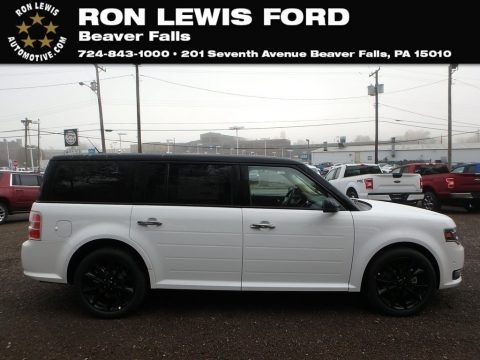 Oxford White 2019 Ford Flex Limited AWD