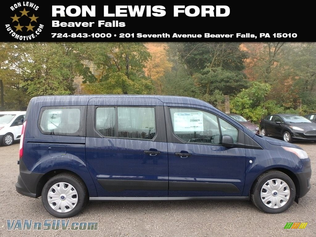 Dark Blue / Ebony Ford Transit Connect XL Passenger Wagon