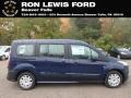 Ford Transit Connect XL Passenger Wagon Dark Blue photo #1