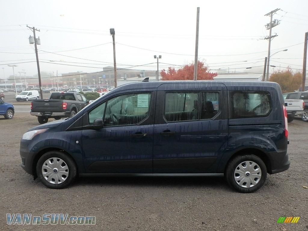 2019 Transit Connect XL Passenger Wagon - Dark Blue / Ebony photo #6