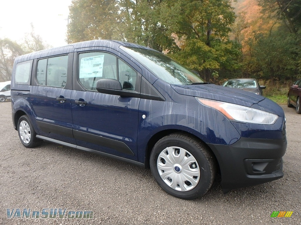 2019 Transit Connect XL Passenger Wagon - Dark Blue / Ebony photo #9