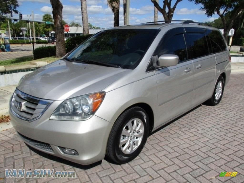 2008 Odyssey EX-L - Silver Pearl Metallic / Gray photo #1