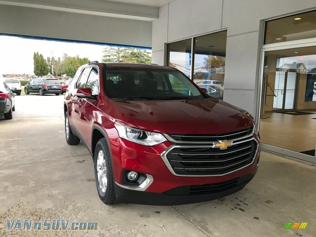 2019 Traverse LT - Cajun Red Tintcoat / Jet Black photo #1