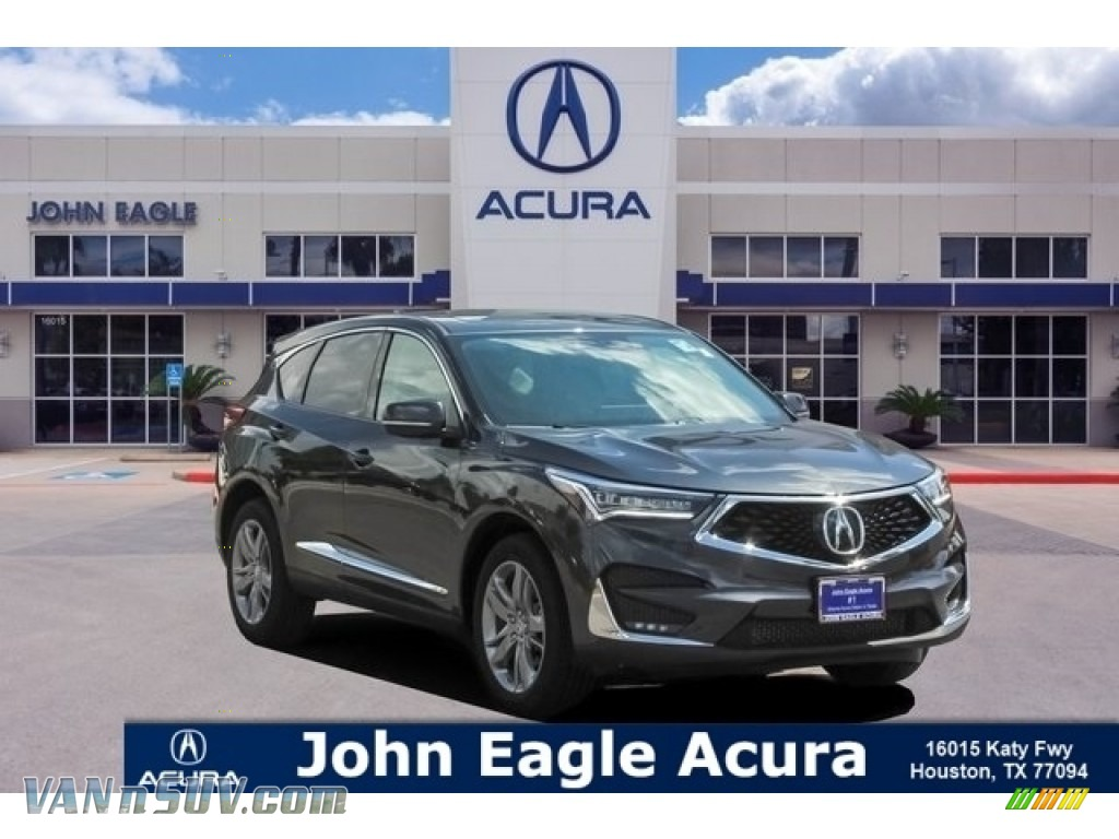 2019 RDX Advance AWD - Gunmetal Metallic / Ebony photo #1