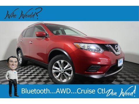 Cayenne Red 2016 Nissan Rogue SV AWD