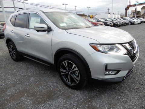Brilliant Silver 2019 Nissan Rogue SV AWD