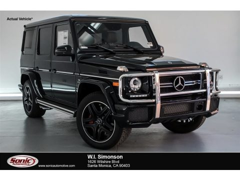 Black 2018 Mercedes-Benz G 63 AMG