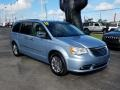 Chrysler Town & Country Touring - L Crystal Blue Pearl photo #7