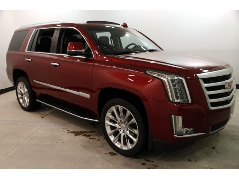 Red Passion Tintcoat 2018 Cadillac Escalade Luxury 4WD