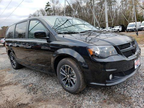 Black Onyx Crystal Pearl 2019 Dodge Grand Caravan SE Plus
