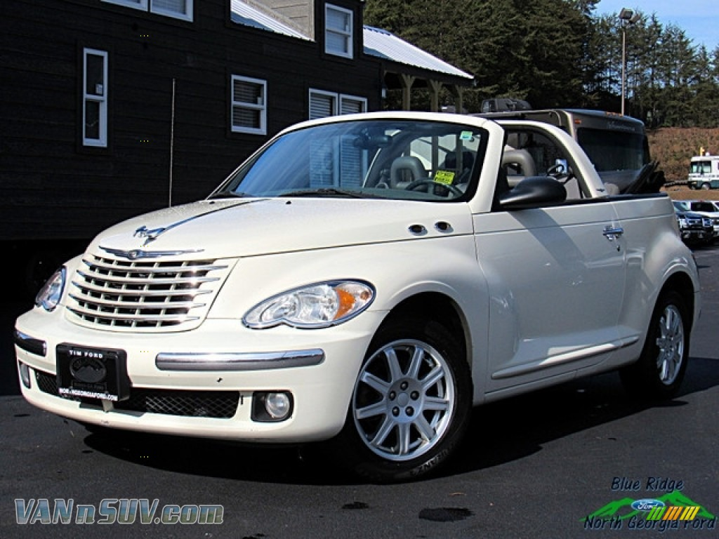 2007 PT Cruiser Convertible - Bright Silver Metallic / Pastel Slate Gray photo #1