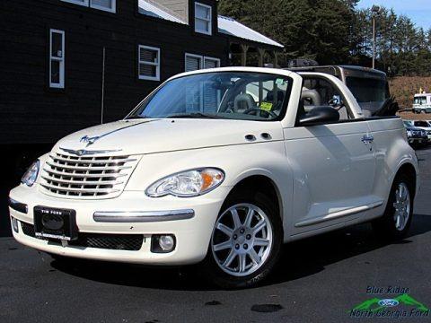 Bright Silver Metallic 2007 Chrysler PT Cruiser Convertible