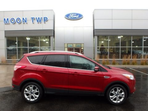 Ruby Red Metallic 2016 Ford Escape Titanium 4WD