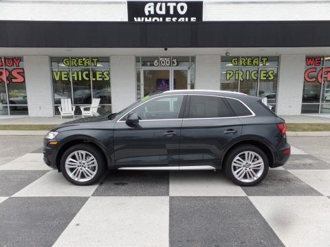 Manhattan Gray Metallic 2018 Audi Q5 2.0 TFSI Premium Plus quattro