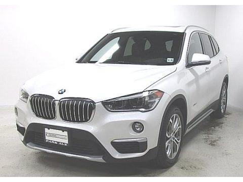 Mineral White Metallic 2016 BMW X1 xDrive28i