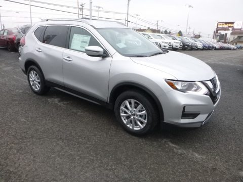 Brilliant Silver 2019 Nissan Rogue Special Edition AWD