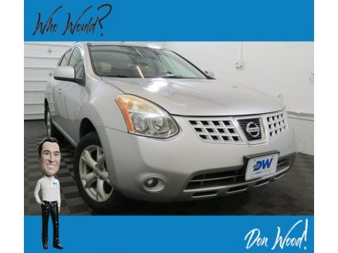 Silver Ice 2009 Nissan Rogue SL AWD