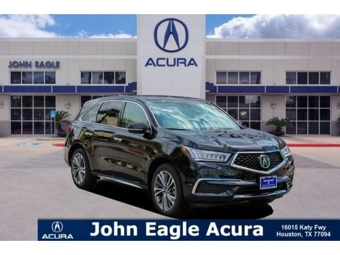 Majestic Black Pearl 2019 Acura MDX Technology SH-AWD