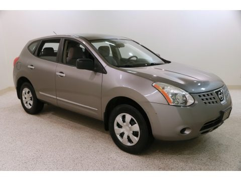 Gotham Gray 2010 Nissan Rogue S AWD